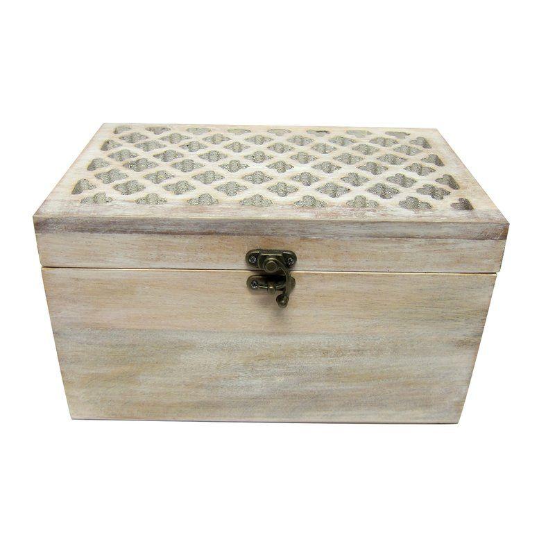 Decorative Photo Boxes Abilene Decorative Box  Decor Styles White Wood And Woods