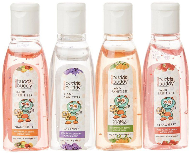 Buddsbuddy Hand Sanitizer Multi Flavour 50ml Pack Of 4 Hand