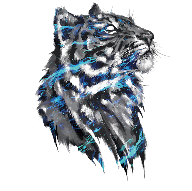 Tiger Png Vector Tiger Free Png Images Tiger Art Concept Art Drawing Art