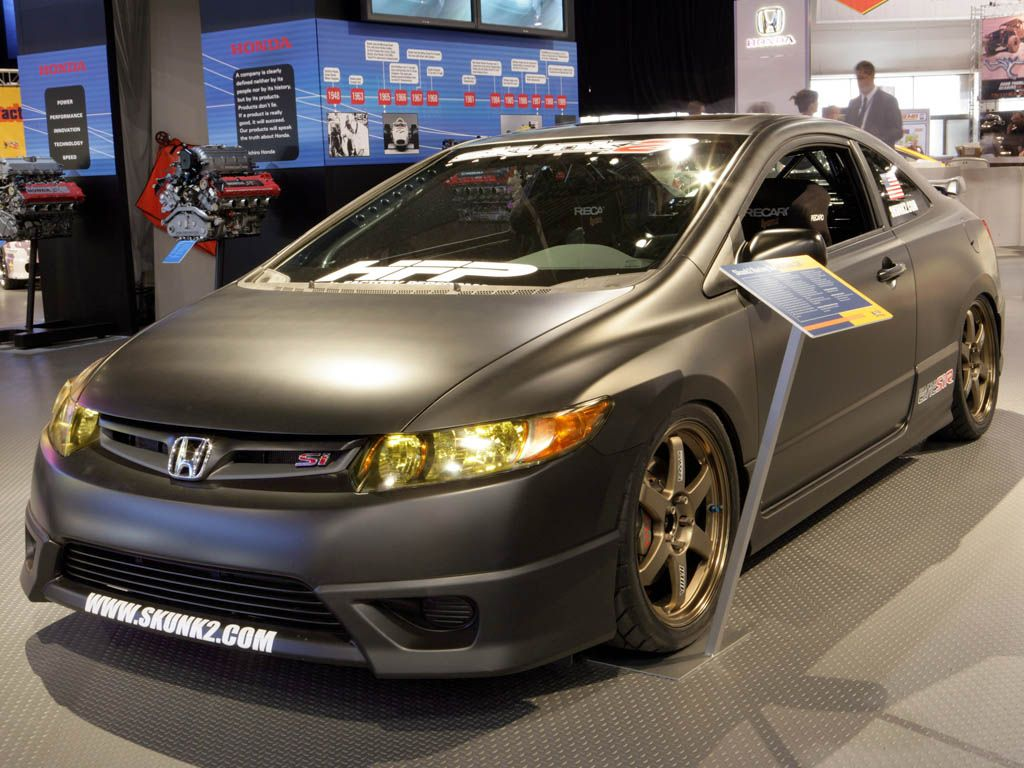 Look At Skunk2 S Very Own Stealth Civic Si R1 Honda Civic Honda Civic Si Civic
