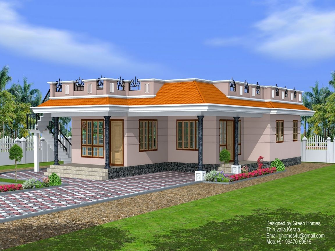 Story Exterior House Designs Well Small One Modern Single Plans Unique Home