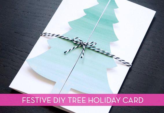 How to handmade christmas tree card free printable handmade how to handmade christmas tree card free printable cards diyxmas solutioingenieria Images