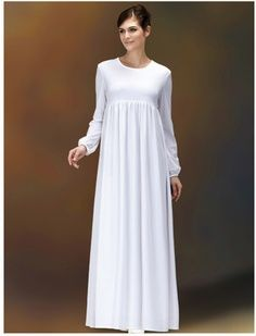 94a9e5c6d7d5 What I like here: simple, empire waist, would prefer either fitted or loose  sleeve (not elastic) and a square neckline. Would add a layer or two of  thin ...