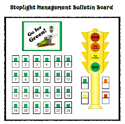 Go For Green Stoplight Classroom Management System Classroom