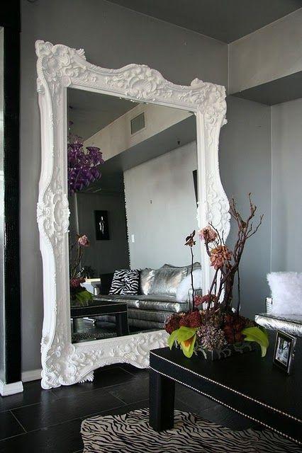 Huge Wall Mirror como decorar com espelhos | beautiful mirrors, huge mirror and