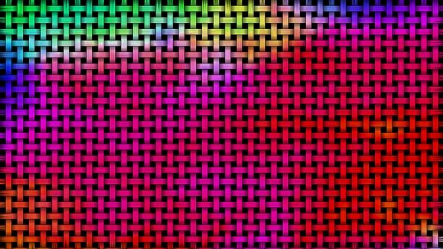 Abstrakti, Värikäs, Kori, Punos, Sateenkaaren Värit