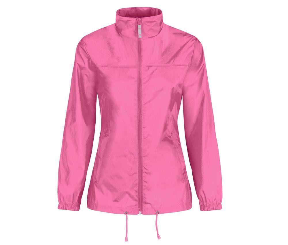 Sirocco Frauen Pixel Pink - B&C BC302 - Größe: 2XL