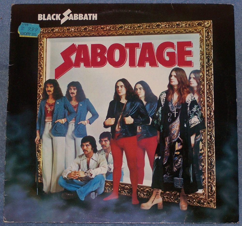 Black Sabbath Sabotage Lp Import West Germany Black Sabbath Album Covers Black Sabbath Albums Black Sabbath