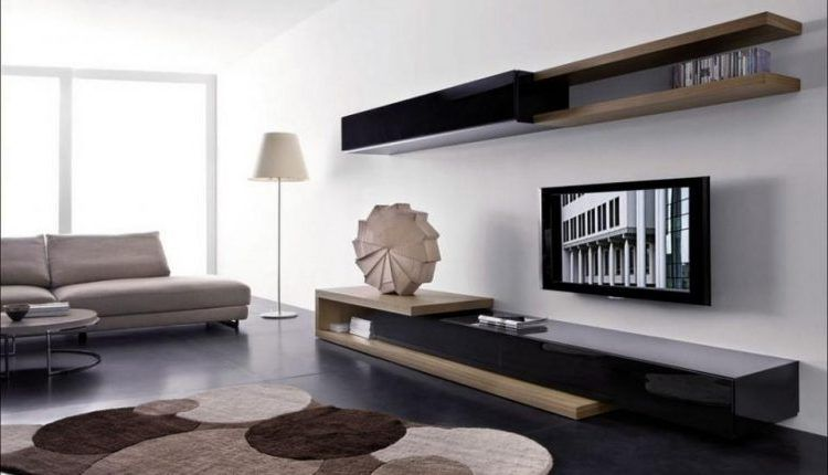 18 Chic And Modern Tv Wall Mount Ideas For Living Room Modern Living Room Wall Modern Furniture Living Room Living Room Wall