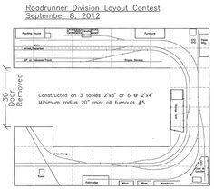 Shortline/Industrial plan for modular benchwork