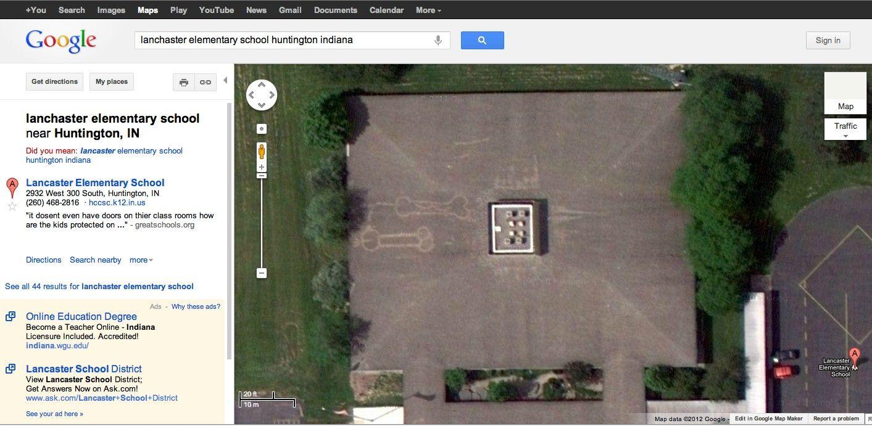 Google Maps does it again. Elementary schools