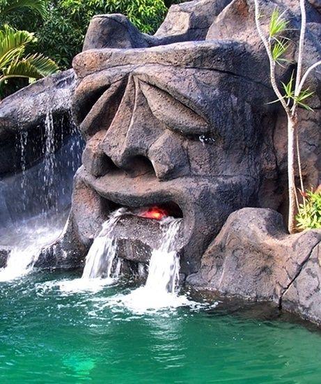 Tiki Waterfall...
