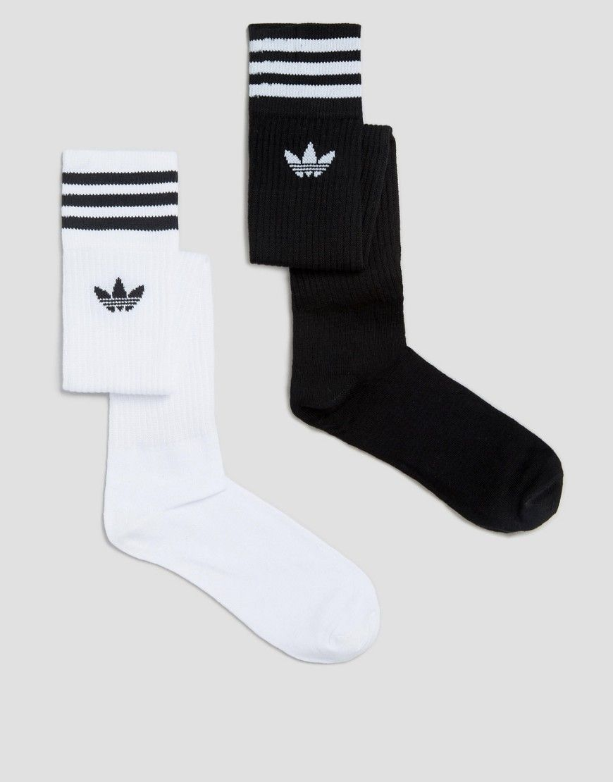 Image 1 of adidas Originals 3 Stripe Knee High Socks