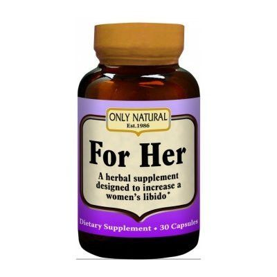 For Her Herbal Libido Supplement 30 Capsules With Images