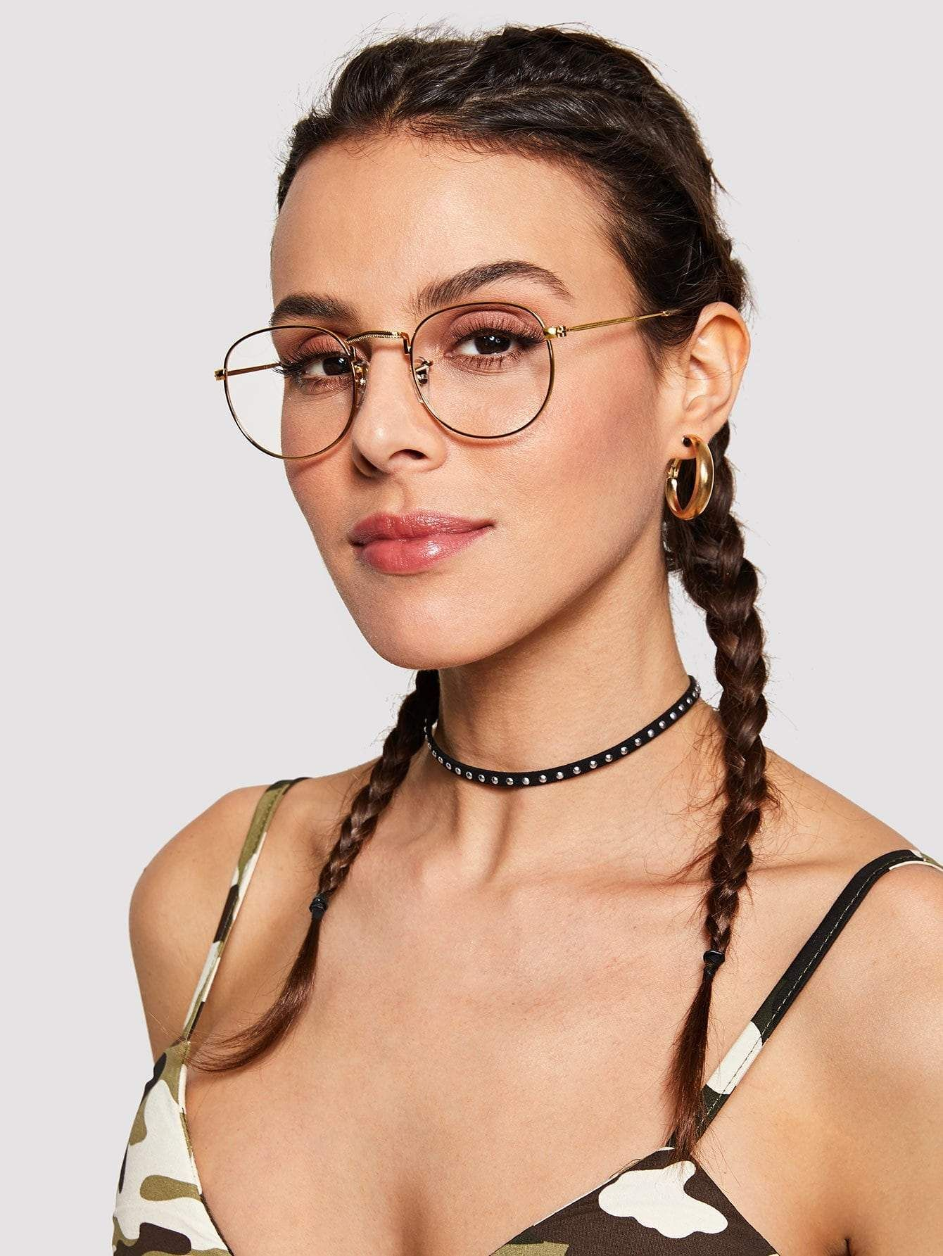 c7357a34c16 Metal Frame Glasses in 2019