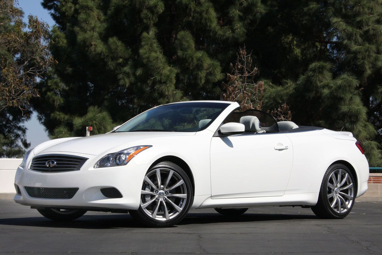 Infiniti G37 Convertible A Lot To Like About This Car You Can Have Manual