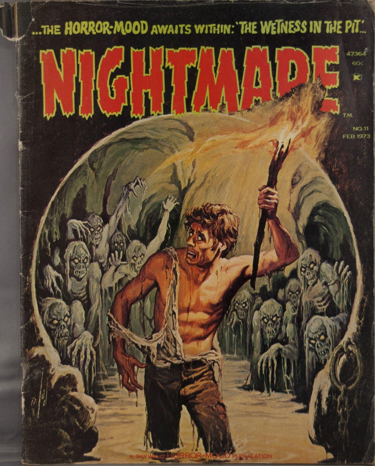 Nightmare Magazine Feb. 1973