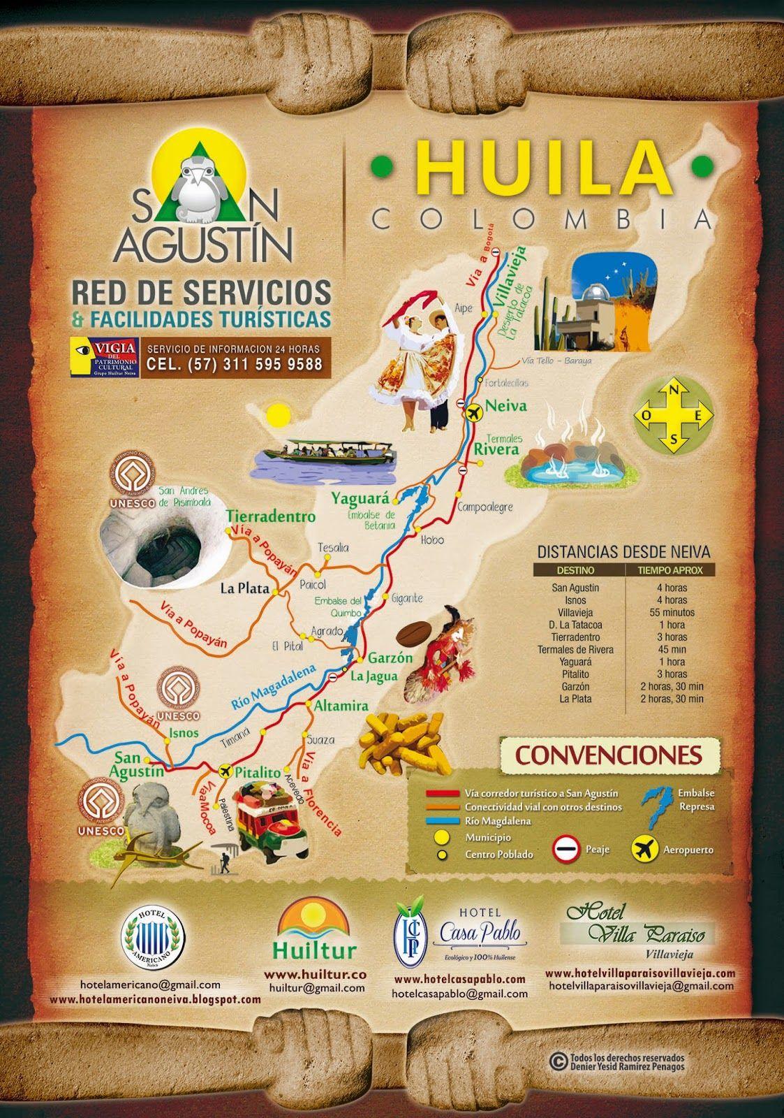 Agencia de viajes - SAN AGUSTÍN, TATACOA, RIVERA, HUILA - HUILTUR