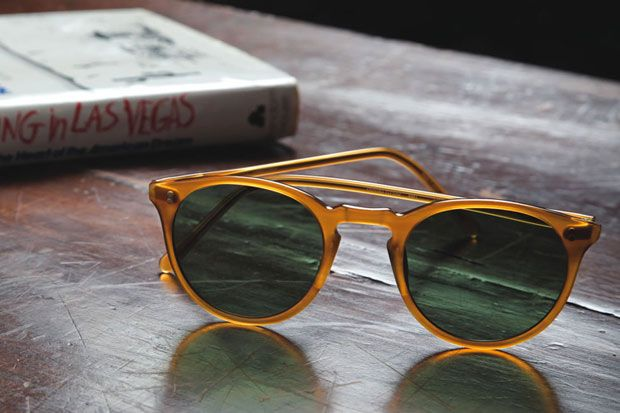 Oliver Peoples Vintage Lookbook.
