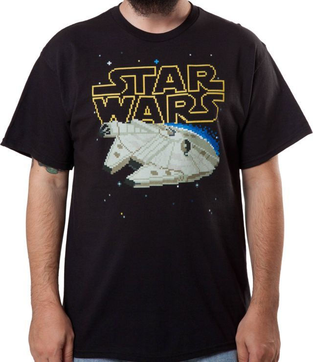 The Millennium falcon and The Texas - T-shirts | TeeHerivar