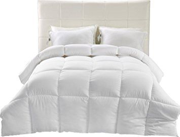 33 Down Alternative Comforter White King All Season Comforter Hypoallergenic Plush Siliconized Fiberfill Duvet Insert Box Stitched By Ut Comforters