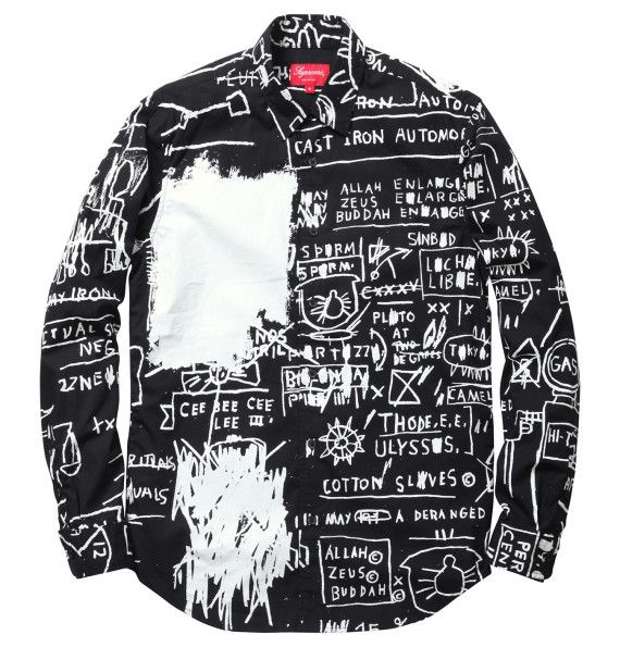 a5bec20b797f Jean-Michel Basquiat for Supreme Collection | Art | Painted clothes ...