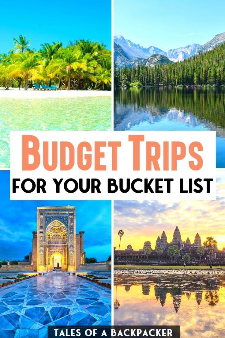 Budget Trips for your Bucket List | I asked my fellow travel bloggers for their top tips for the best budget destinations around the world, here is where they recommend for a cheap vacation! #BudgetTravel #Backpacking #CheapTravel #BudgetTrips