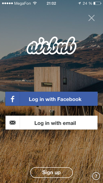 Airbnb App Design Mobile App Design Splash Screen