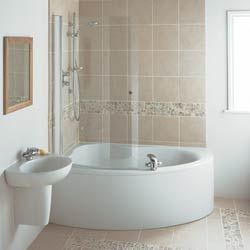 Find And Install A Corner Bath Screen