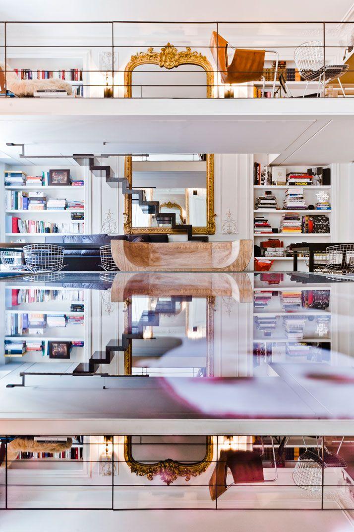 An Apartment by Isabelle Stanislas on Rue de Rivoli, Paris, FR ...
