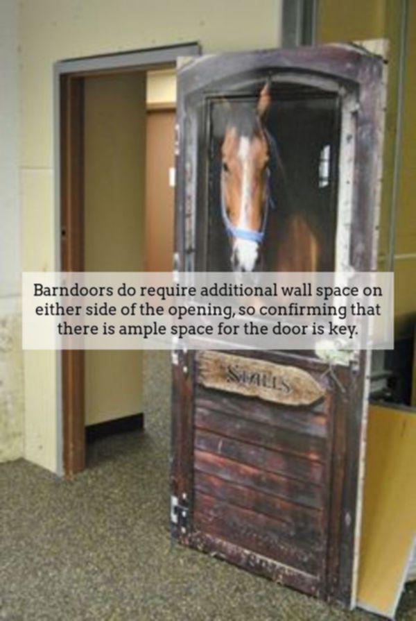 White Interior Barn Door | Barnyard Style Sliding Doors | Barn Slider  Hardware | Stanley Barn Door Hardware 4902813689 | Internal Barndoors |  Pinterest ...
