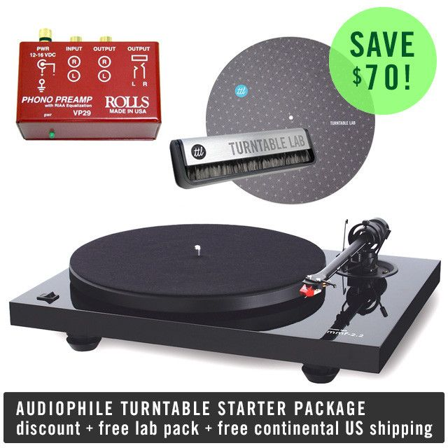 Music Hall: Audiophile Turntable Starter Package (MMF 2.2, Bellari VP29)