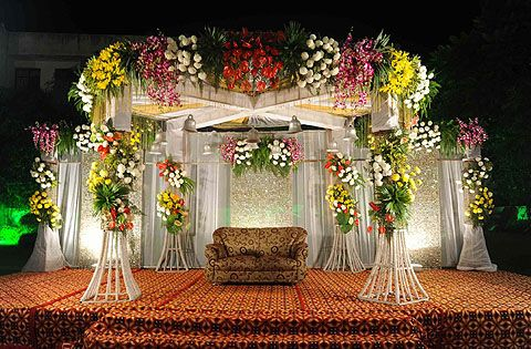 Wedding reception httpsinokmyfunctionbanquet halls gallery another of flower beautiful floral mandap designs for an asian wedding made on a wrought tips for flower wedding stage decoration bangalore junglespirit Choice Image