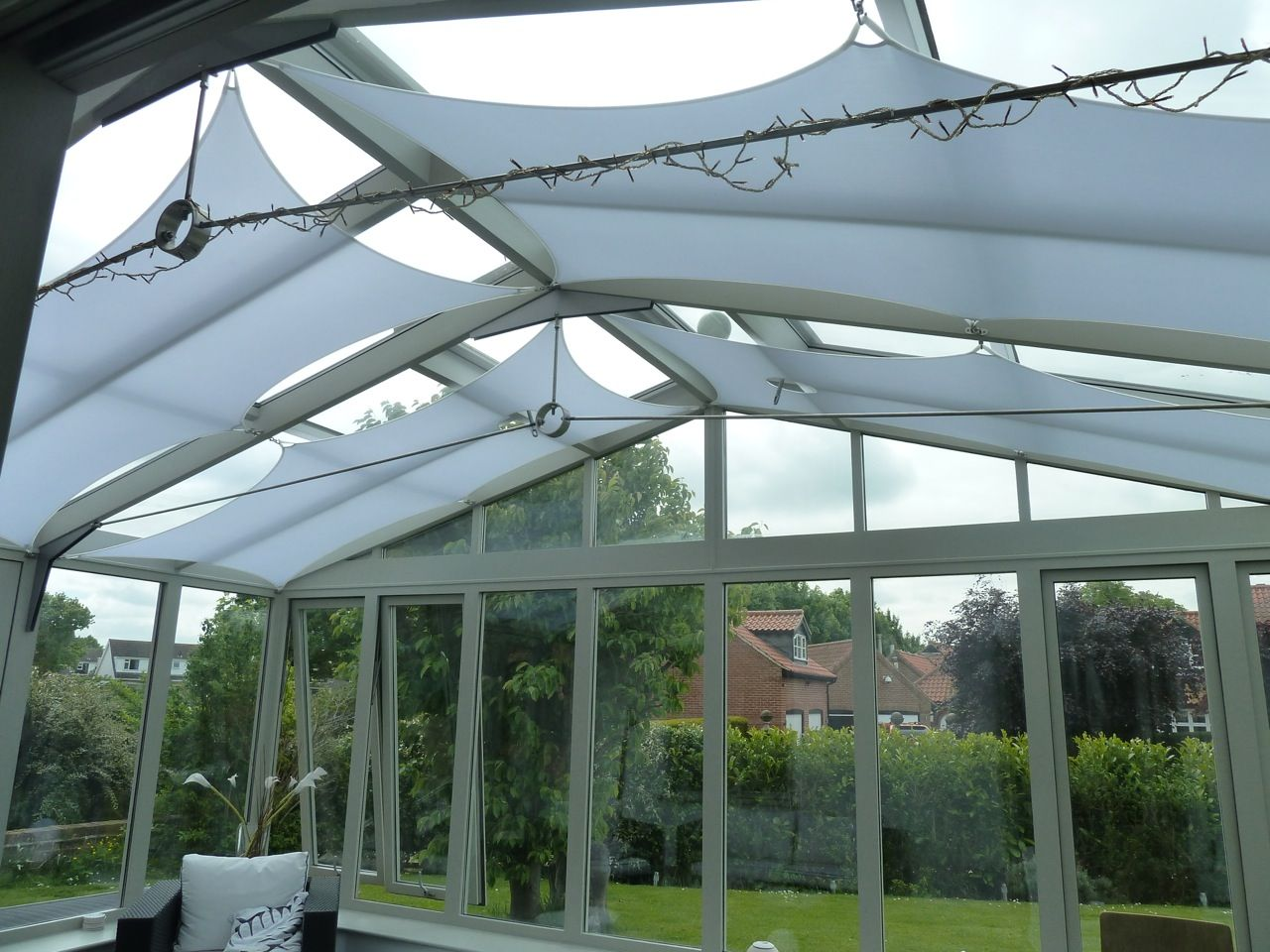 Pin By Jungeun Lee On Conservatory Designs Conservatory Design Shade Sail Roof Lantern