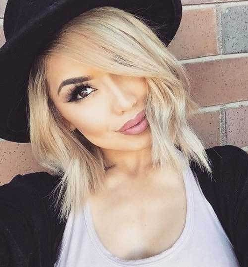 Cute Short Blonde Hairstyles 2017 Styles Outfits Short Blonde Hair Short Hair Styles Choppy Bob Hairstyles