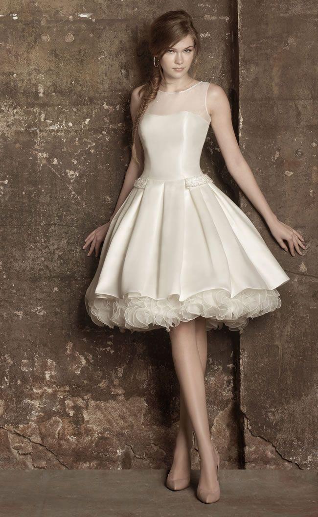 Best Short Wedding Dresses for 2020 50s style wedding