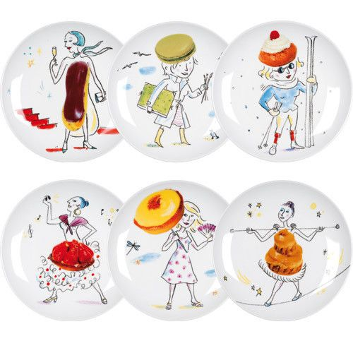 La Dessert Chaise Les Gourmandes Assiettes LongueCadeau Deco T1JcK3lF