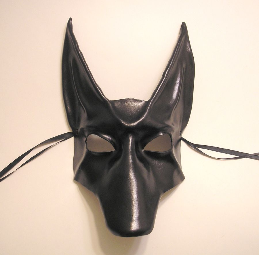 Black Jackal Leather Mask by ~teonova on deviantART | Siege and ...