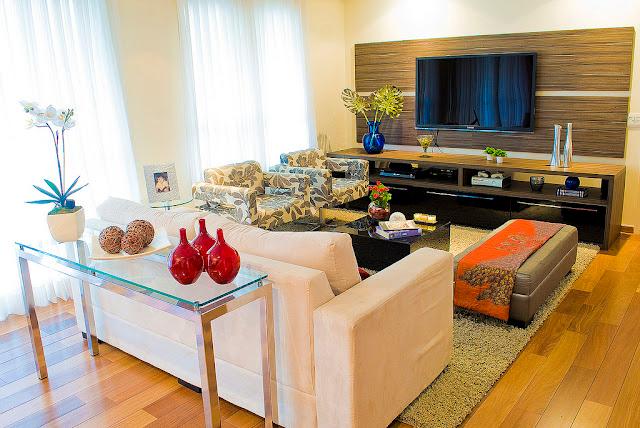 Muebles de cocina modernos para departamentos chicos for Decoracion living comedor