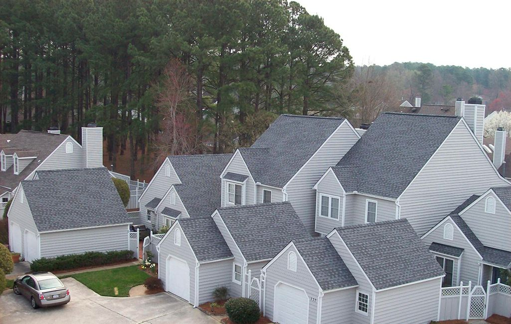 Residential Project Portfolio Roofing Roof Installation House Exterior