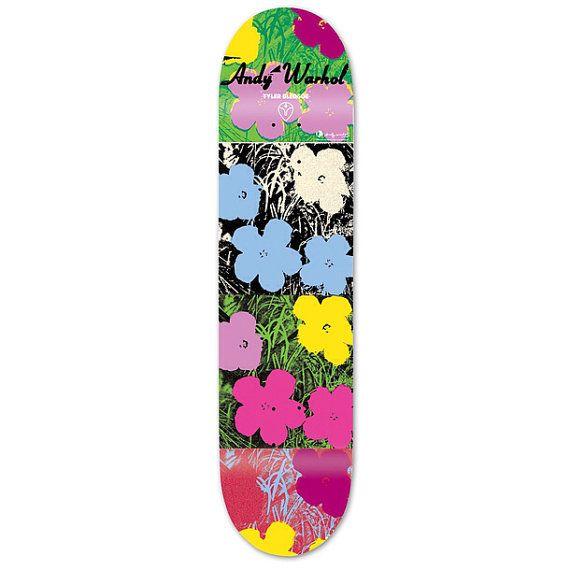 Rare Out Of Print Andy Warhol Skateboard Deck By Boomeranginc Skateboard Design Warhol Alien Workshop