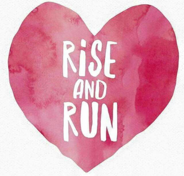 Rise and shine! Time for a run with my baby! Green lakes here we come! ♀️♀️