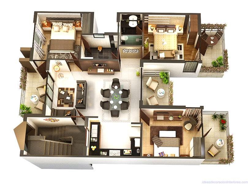home interior lover on house plans three bedroom house