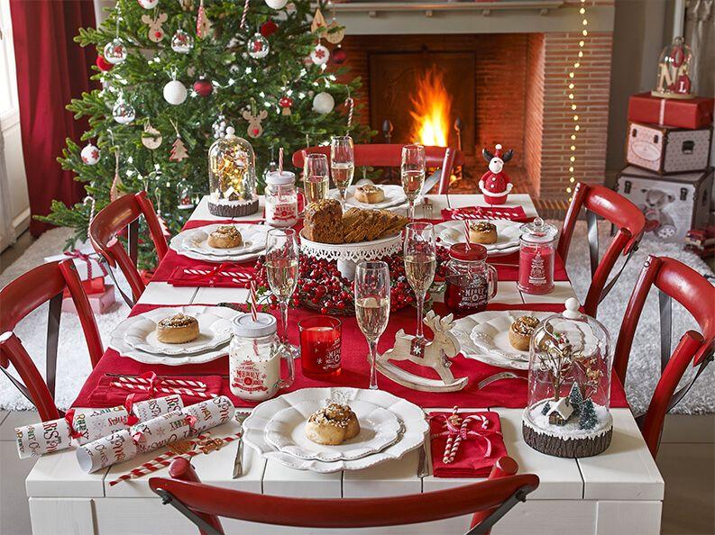 Deco table de Noel  les plus belles déco de table de fete de