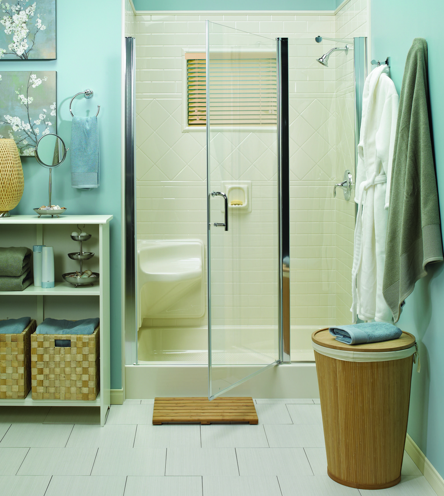 A Bath Fitter Shower Glass Door Can Give Your Bathroom Such A Clean Look.