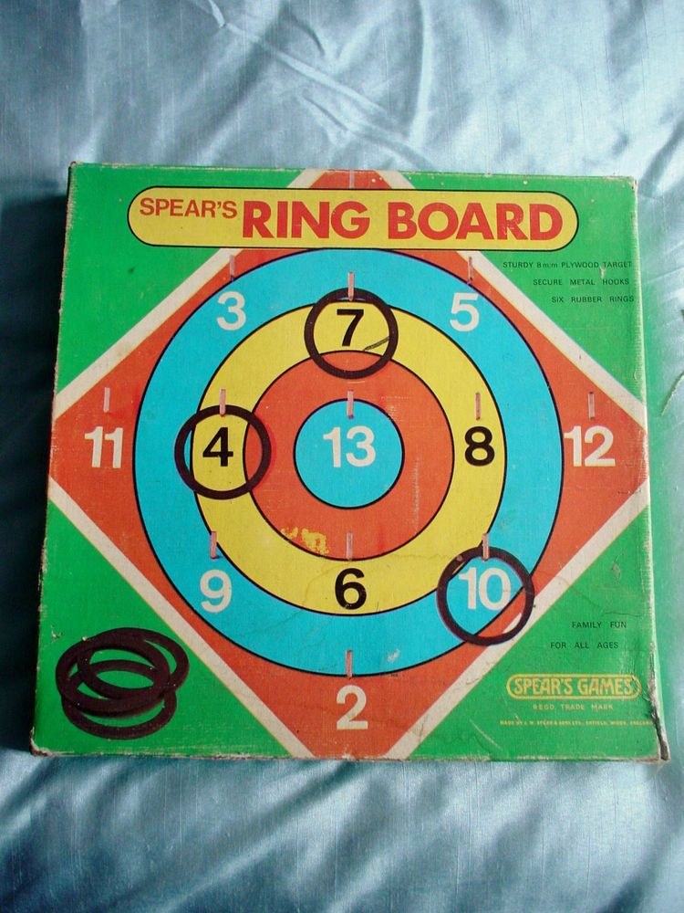 Spear's RING BOARD Game Complete 2003 Looks Older