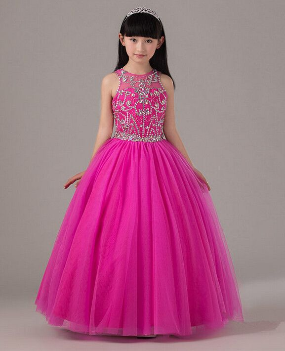 Long Dresses For Kids Photo Album - Reikian