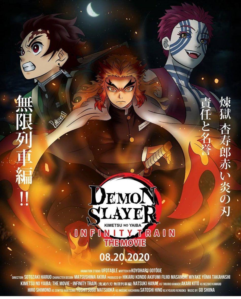 Pin By Demon Slayer Kimetsu No Yaiba On Demon Slayrr Kimetsu Extra Features And Funny 2020 Slayer Anime Demon Night Of The Demons