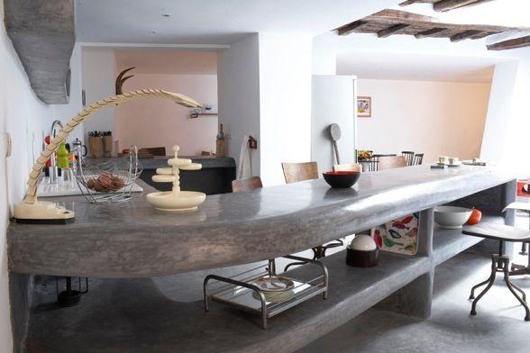 Barra cocina en cemento pulido chic and deco.jpg 588×392 píxeles ...