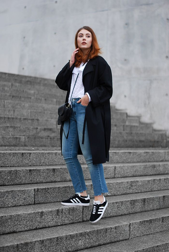 Adidas-Gazelle-Acne-Coat-2 | Adidas outfit, New look fashion ...